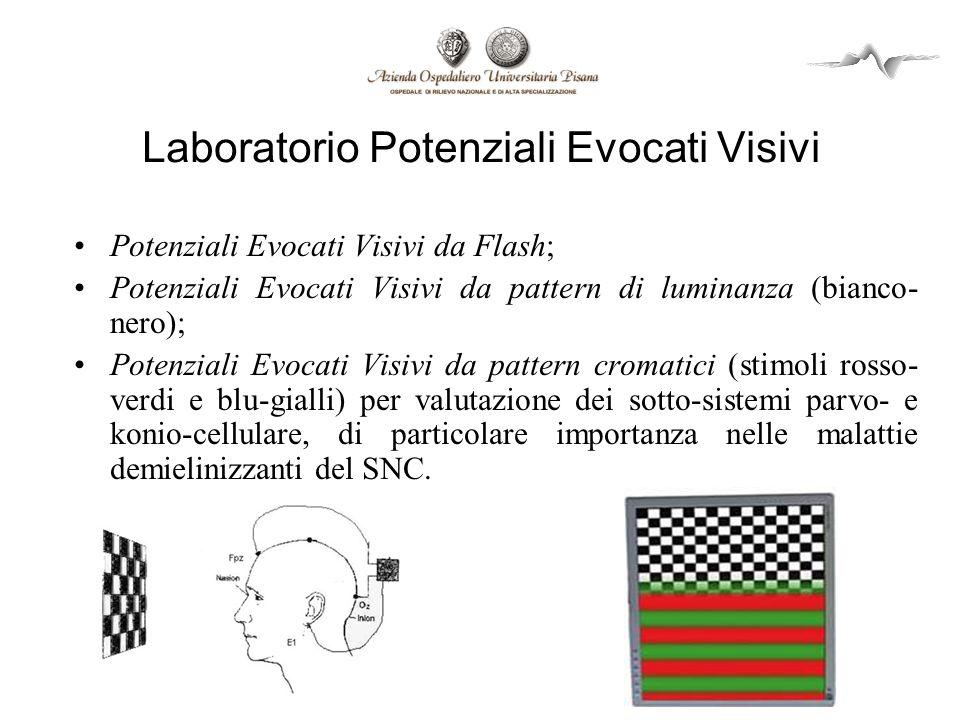 Laboratorio Potenziali Evocati Visivi