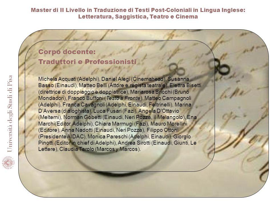 Traduttori e Professionisti