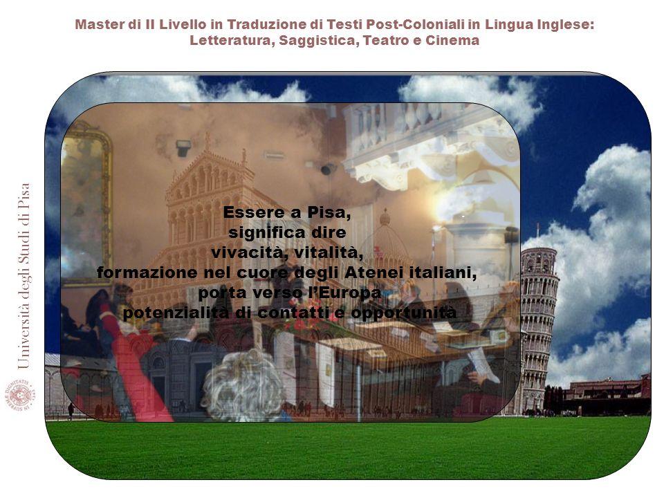 formazione nel cuore degli Atenei italiani, porta verso l'Europa