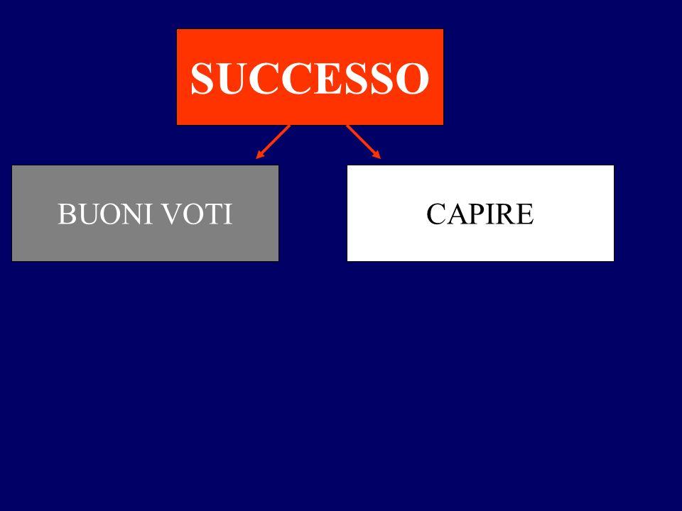 SUCCESSO BUONI VOTI CAPIRE