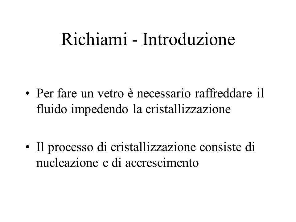 Richiami - Introduzione