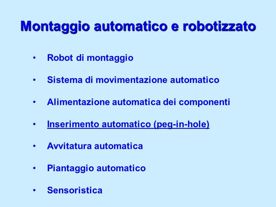 Montaggio automatico e robotizzato