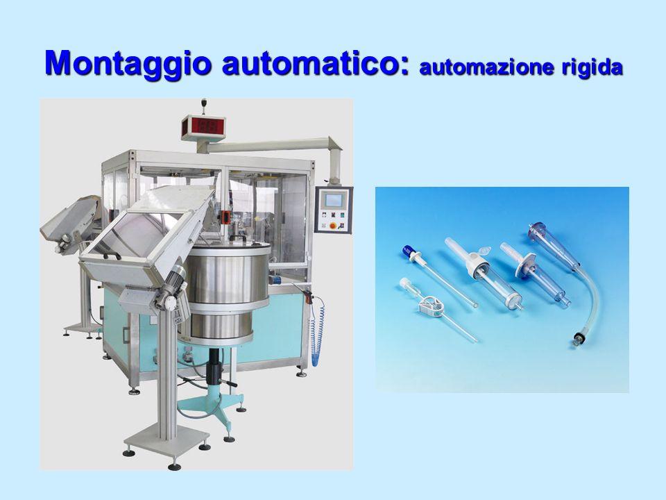 Montaggio automatico: automazione rigida