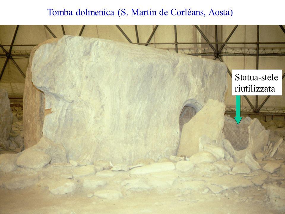 Tomba dolmenica (S. Martin de Corléans, Aosta)