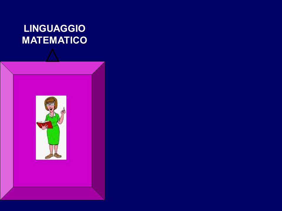 LINGUAGGIO MATEMATICO