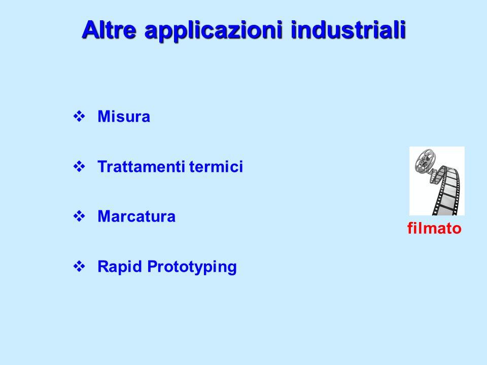 Altre applicazioni industriali