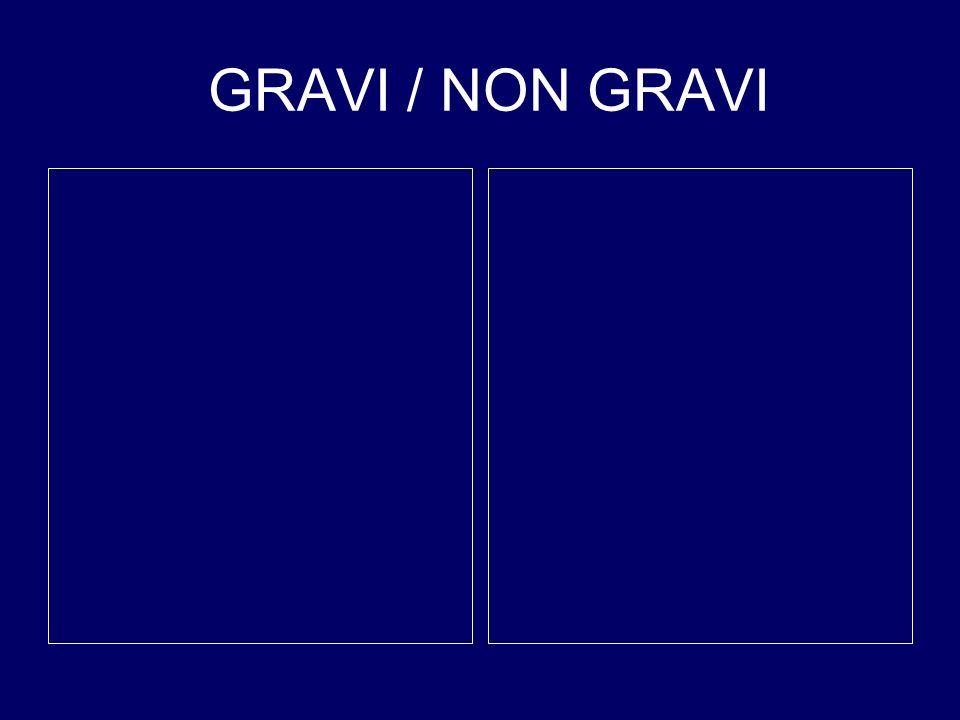 GRAVI / NON GRAVI