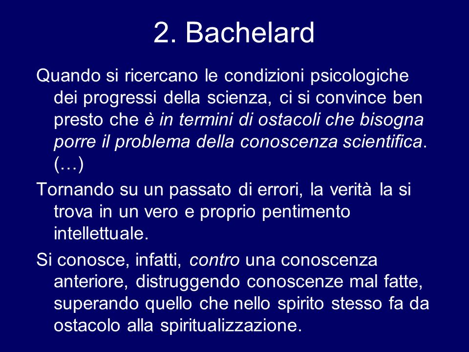 2. Bachelard