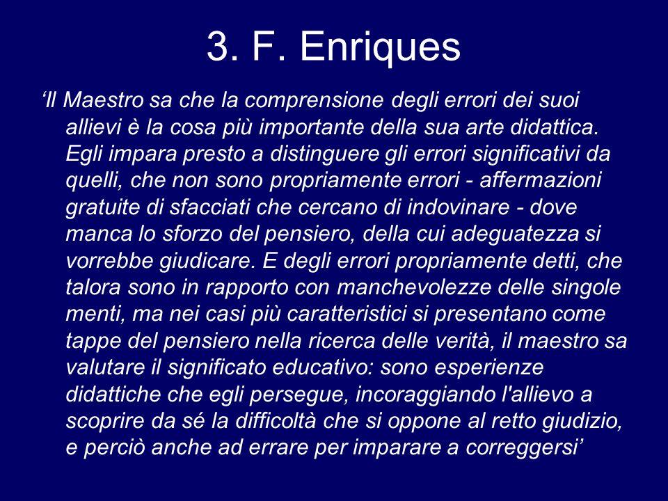 3. F. Enriques
