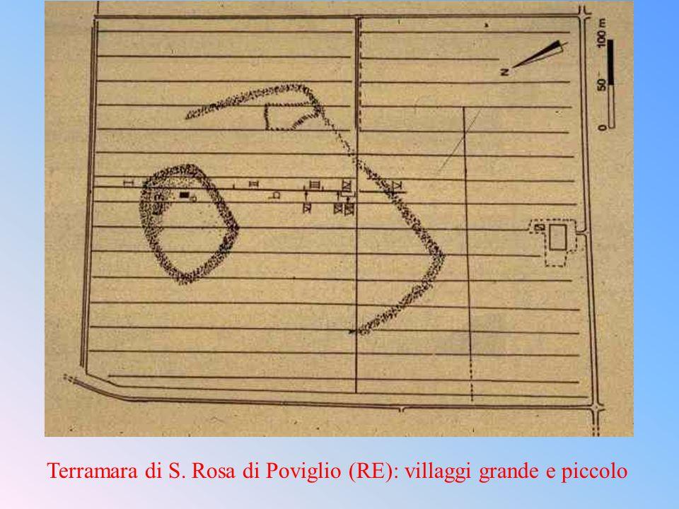 Terramara di S. Rosa di Poviglio (RE): villaggi grande e piccolo