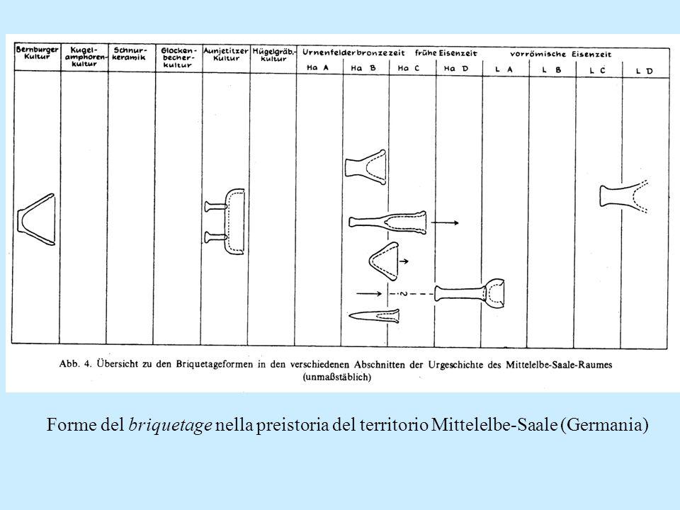 Forme del briquetage nella preistoria del territorio Mittelelbe-Saale (Germania)
