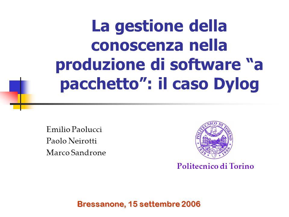 Emilio Paolucci Paolo Neirotti Marco Sandrone
