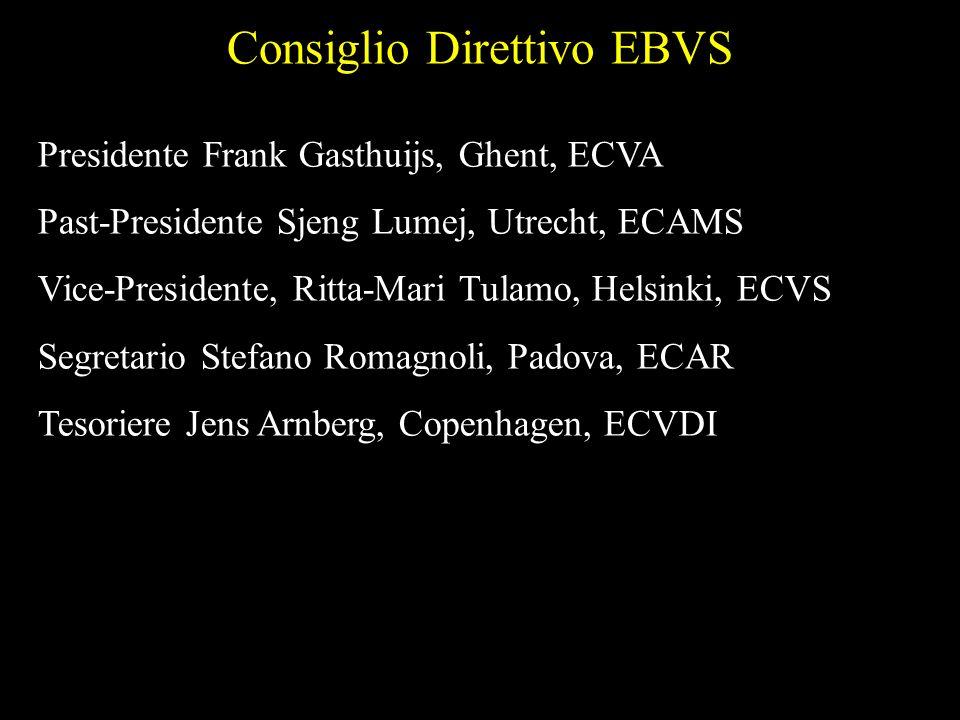 Consiglio Direttivo EBVS