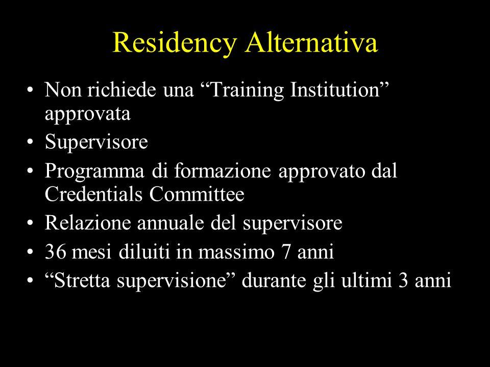 Residency Alternativa