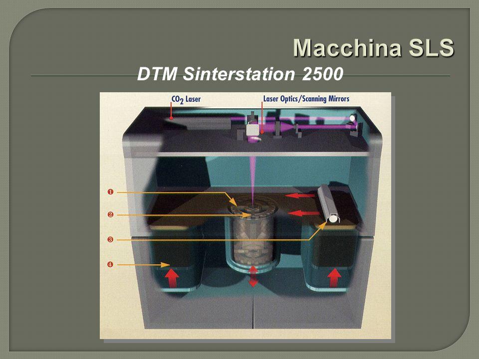 Macchina SLS DTM Sinterstation 2500