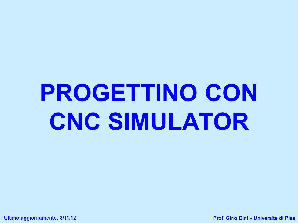 PROGETTINO CON CNC SIMULATOR
