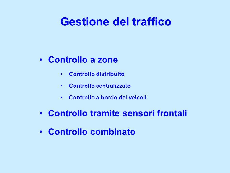 Gestione del traffico Controllo a zone