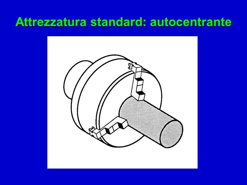 Attrezzatura standard: autocentrante