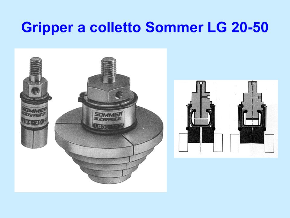 Gripper a colletto Sommer LG 20-50