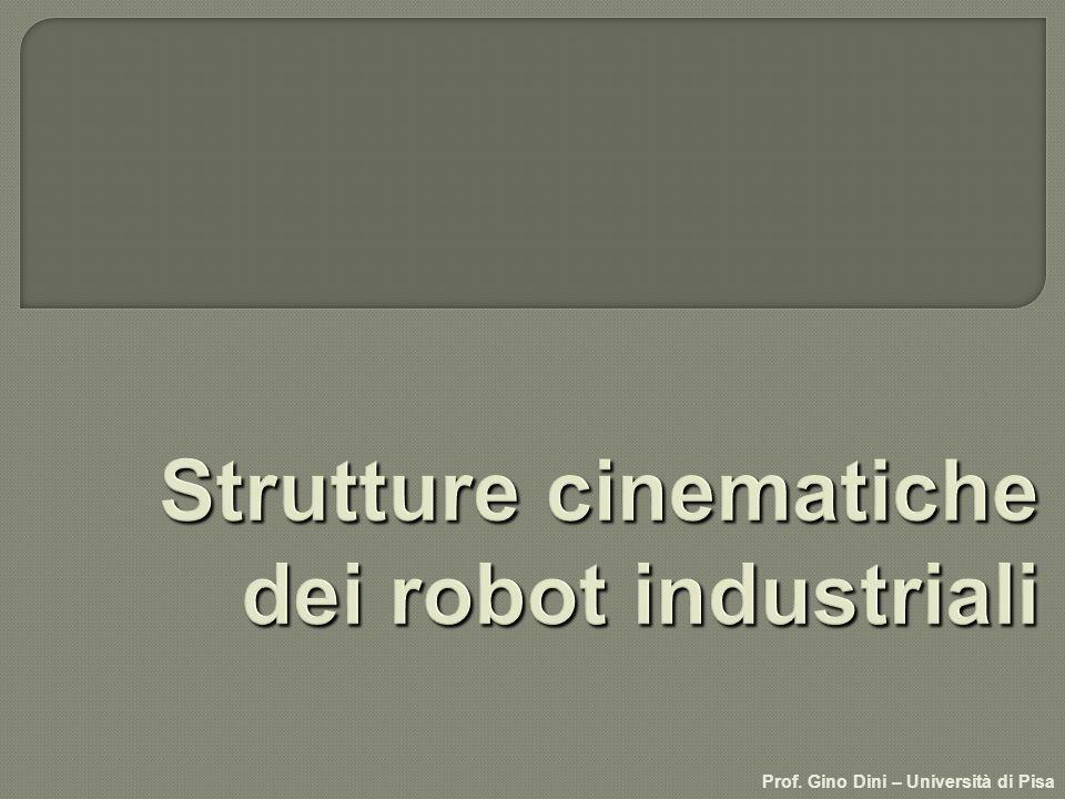 Strutture cinematiche dei robot industriali