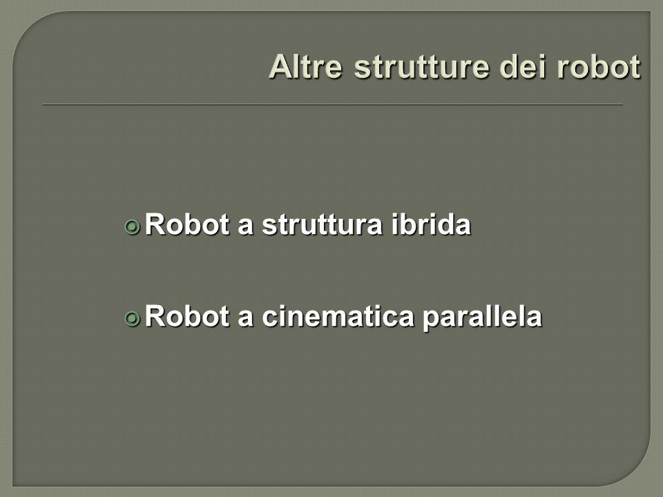 Altre strutture dei robot