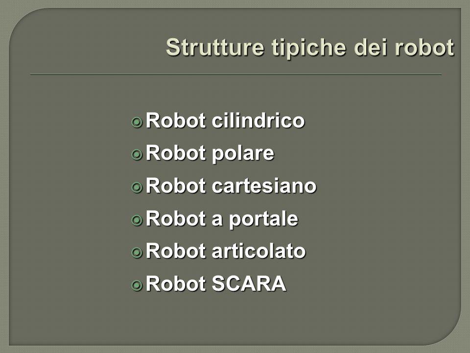 Strutture tipiche dei robot