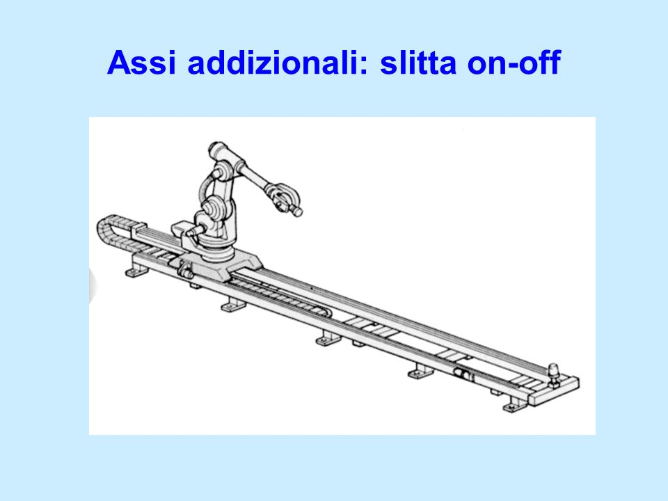 Assi addizionali: slitta on-off