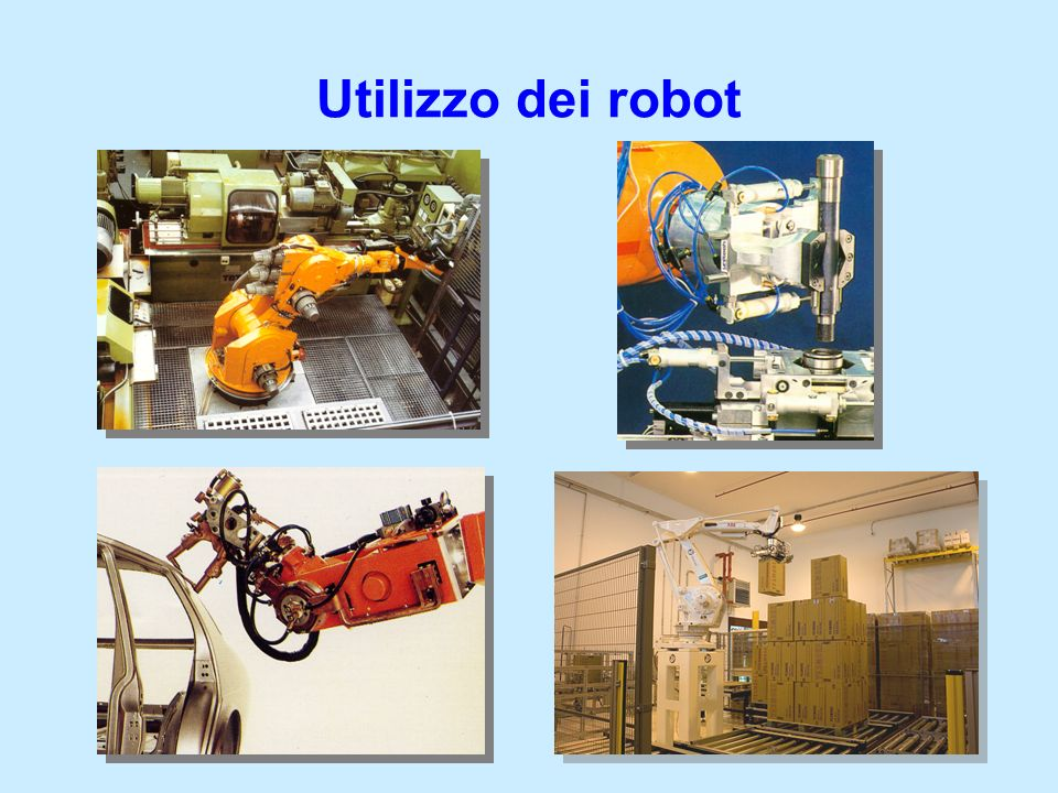 Utilizzo dei robot