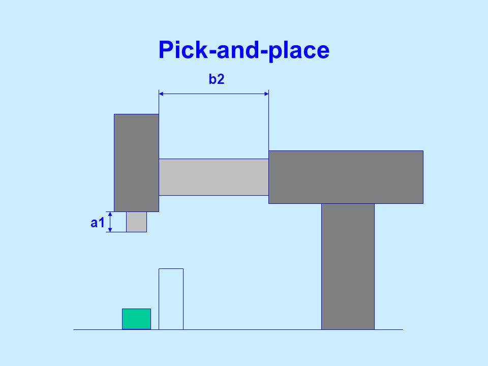 Pick-and-place b2 a1