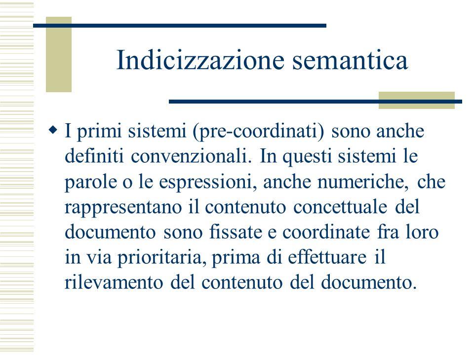 Indicizzazione semantica