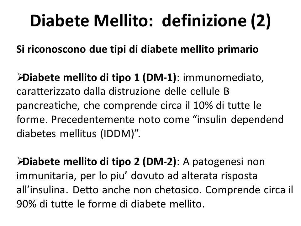 Diabete Mellito: definizione (2)