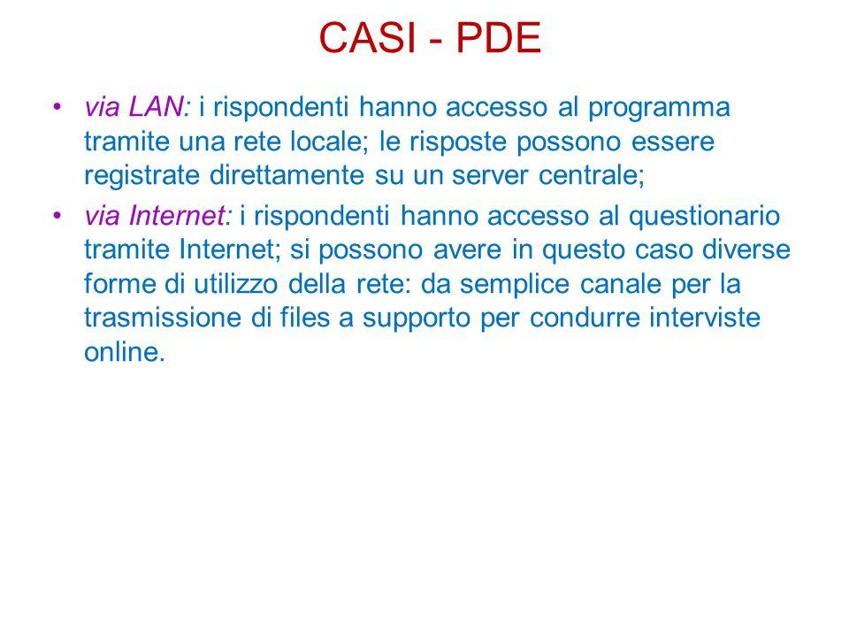 CASI - PDE
