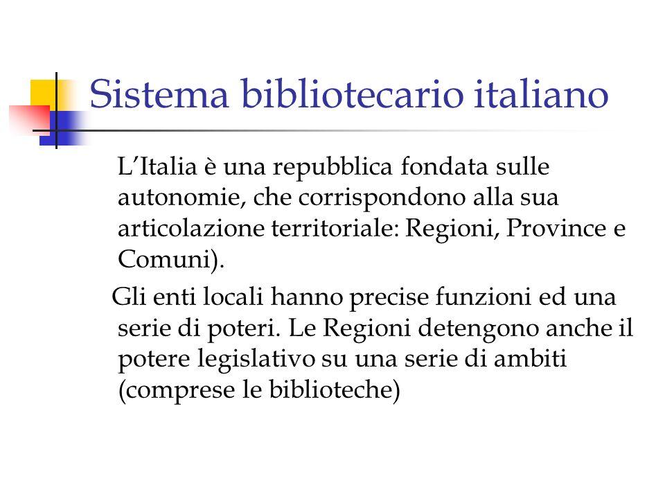 Sistema bibliotecario italiano