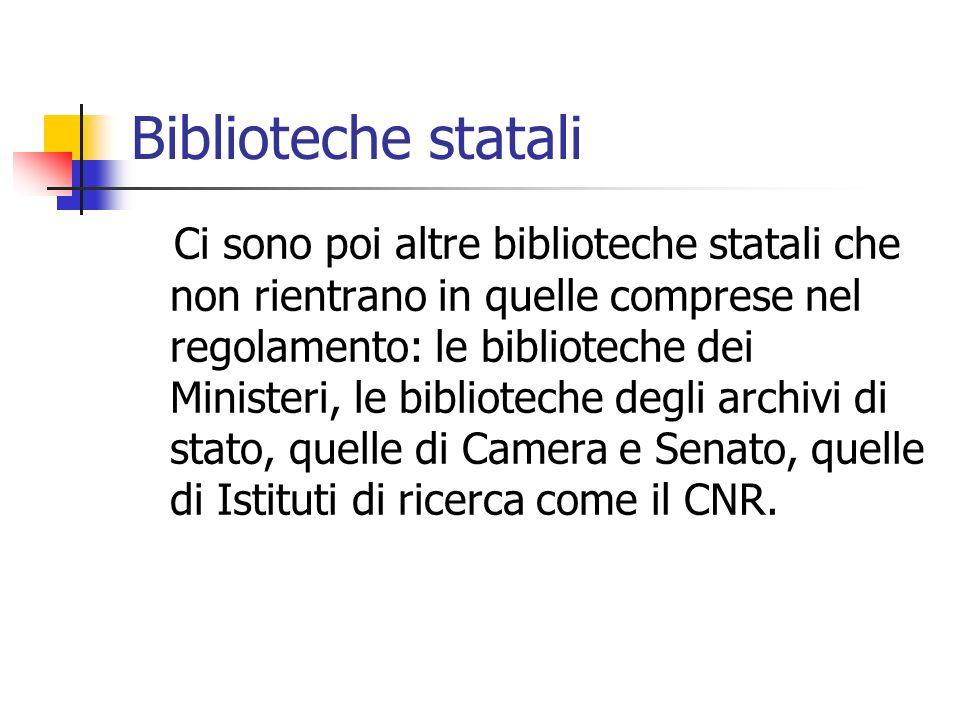 Biblioteche statali