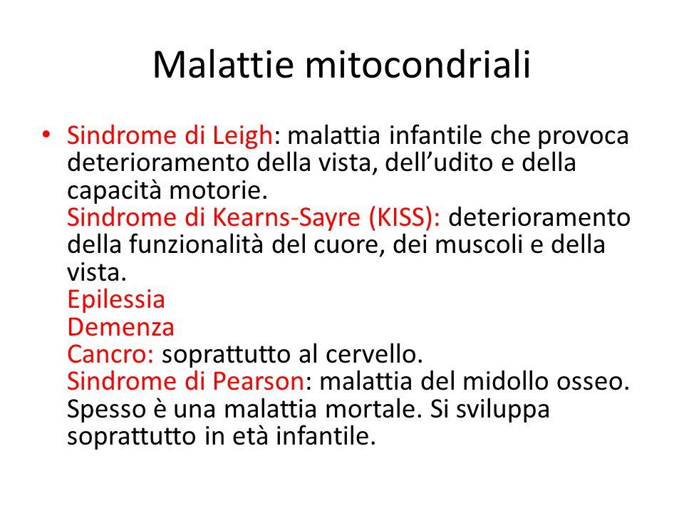 Malattie mitocondriali