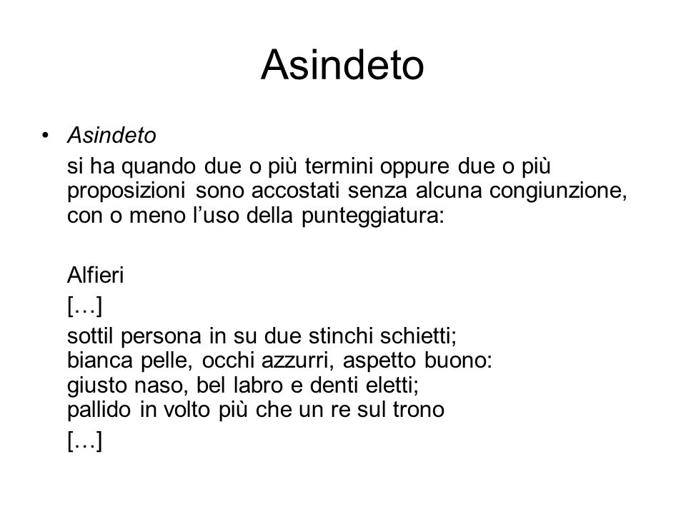 Asindeto Asindeto.