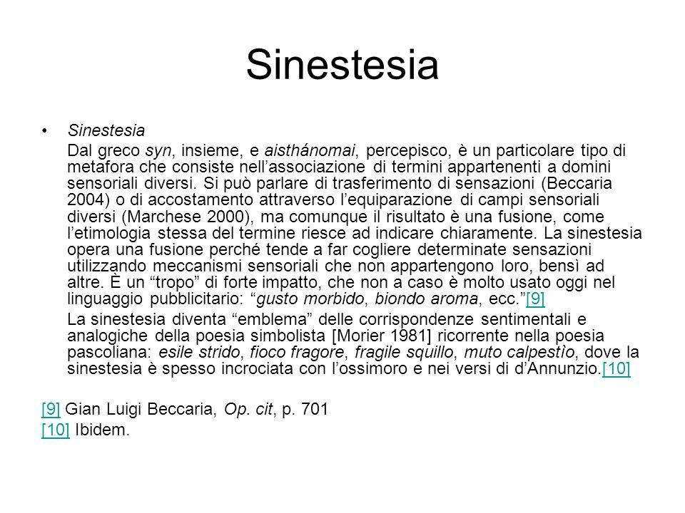 Sinestesia Sinestesia