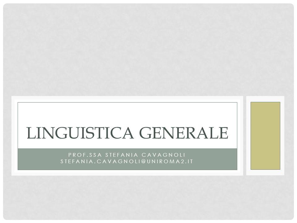 Prof.ssa Stefania Cavagnoli stefania.cavagnoli@uniroma2.it