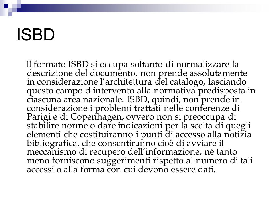 ISBD
