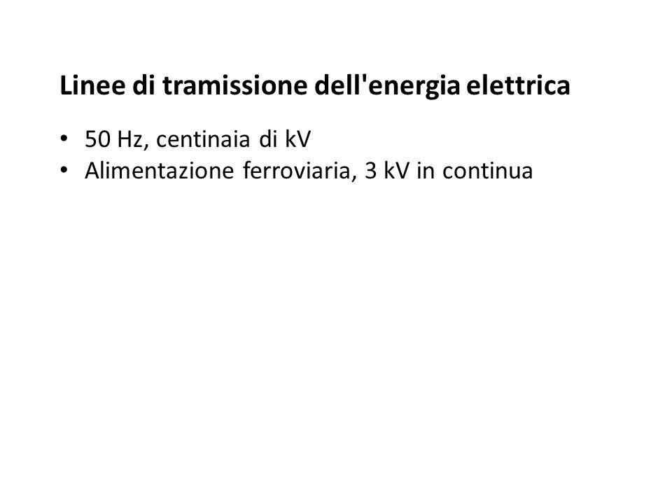 Linee di tramissione dell energia elettrica