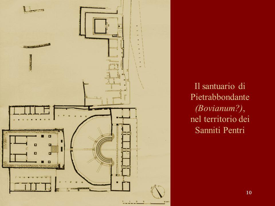 Il santuario di Pietrabbondante (Bovianum