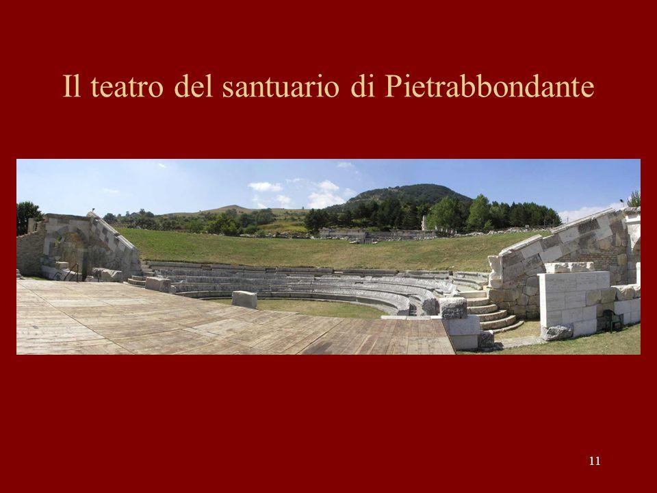 Il teatro del santuario di Pietrabbondante