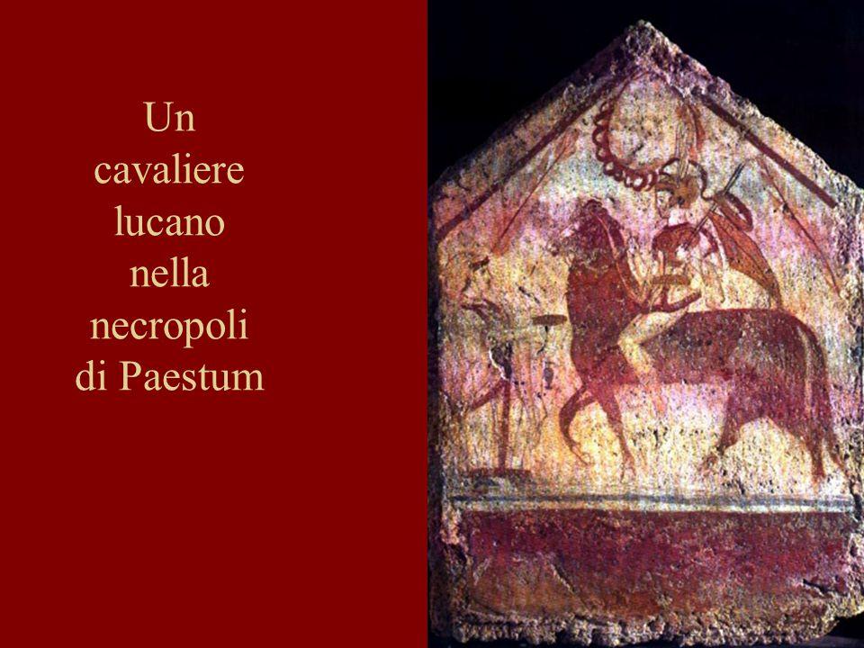 Un cavaliere lucano nella necropoli di Paestum