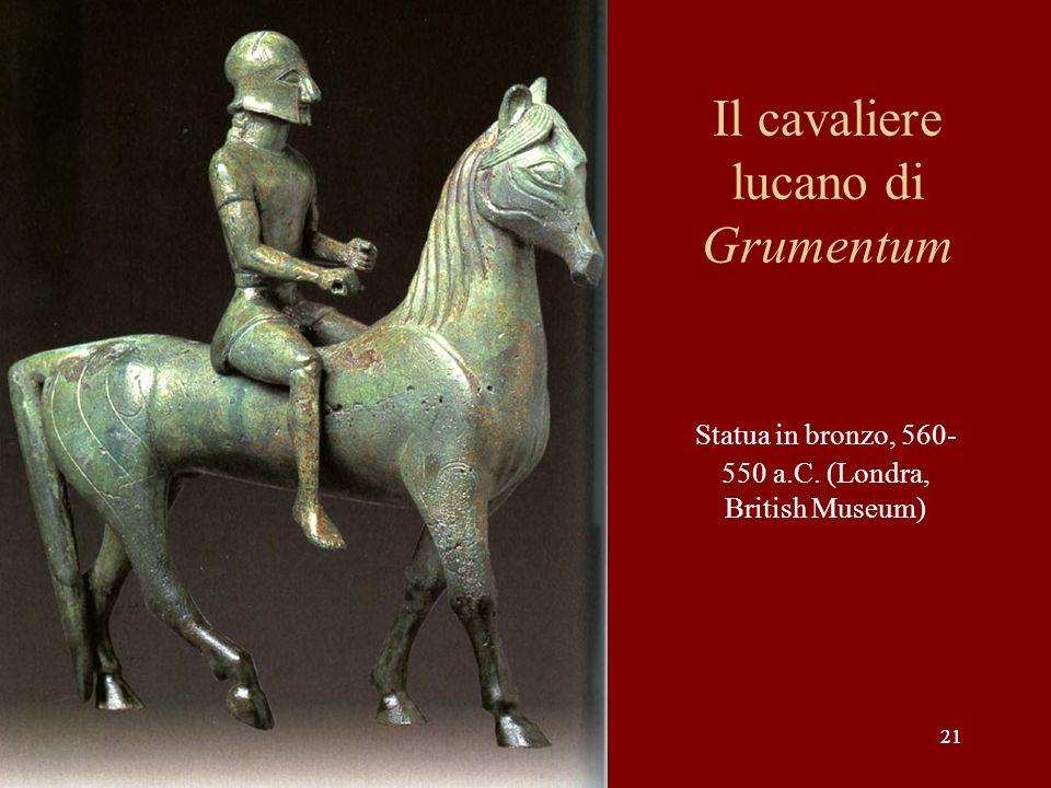 Il cavaliere lucano di Grumentum