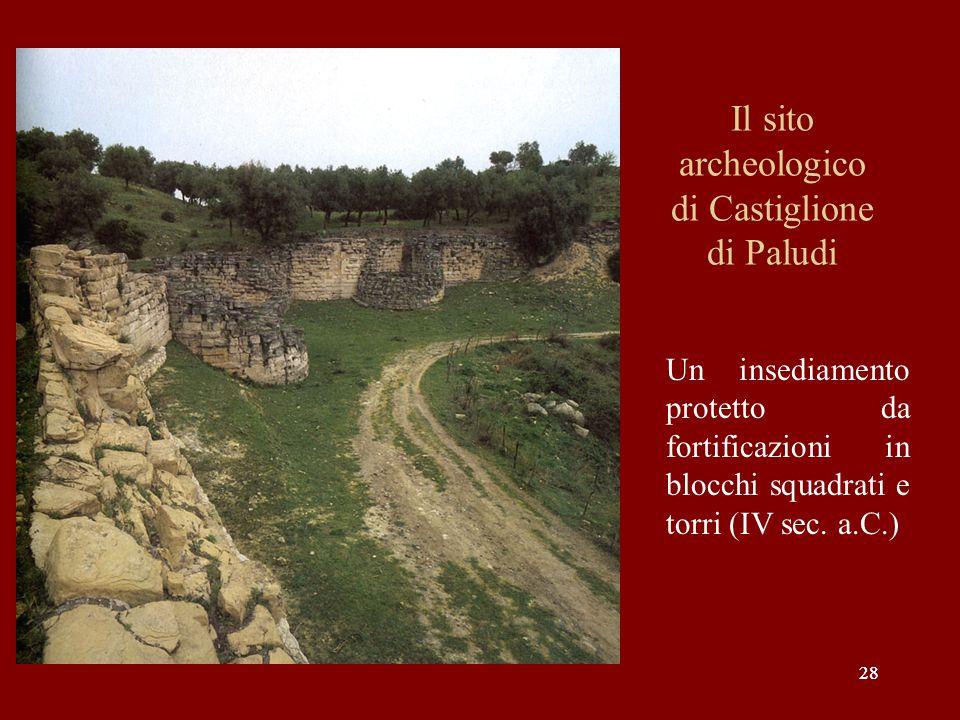 Il sito archeologico di Castiglione di Paludi
