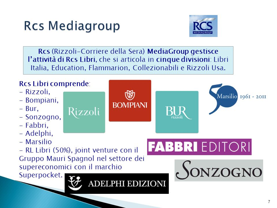 Rcs Mediagroup