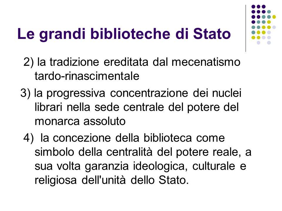 Le grandi biblioteche di Stato
