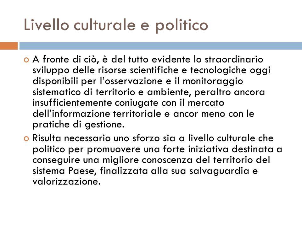 Livello culturale e politico