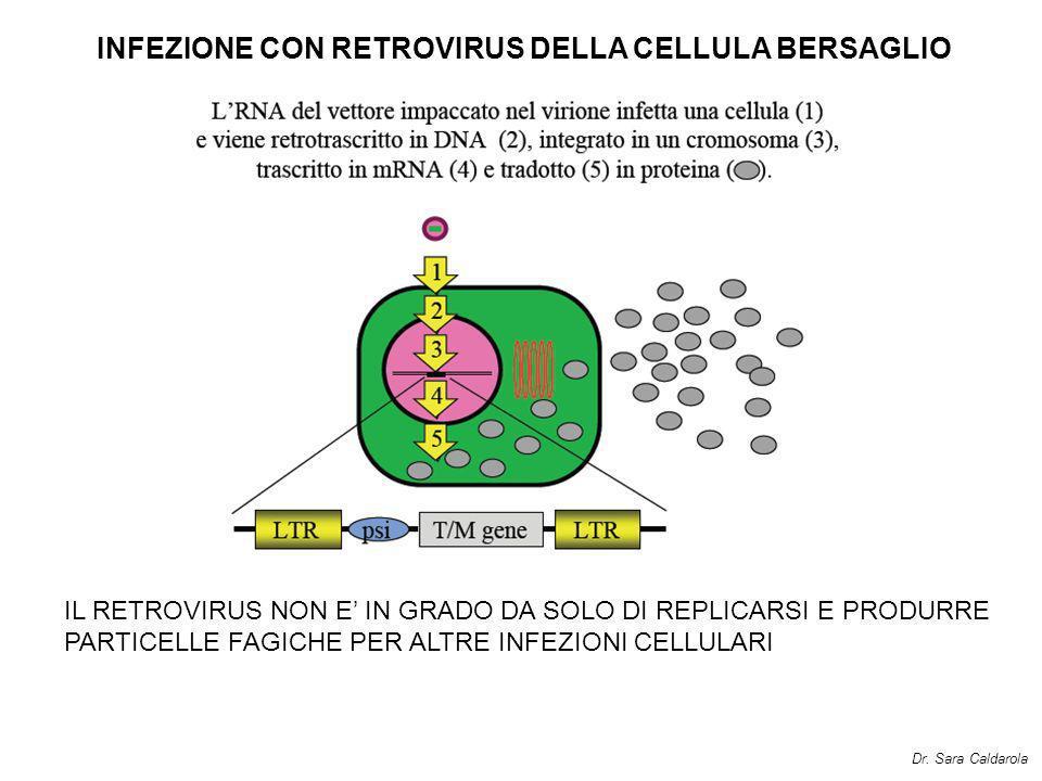 INFEZIONE CON RETROVIRUS DELLA CELLULA BERSAGLIO