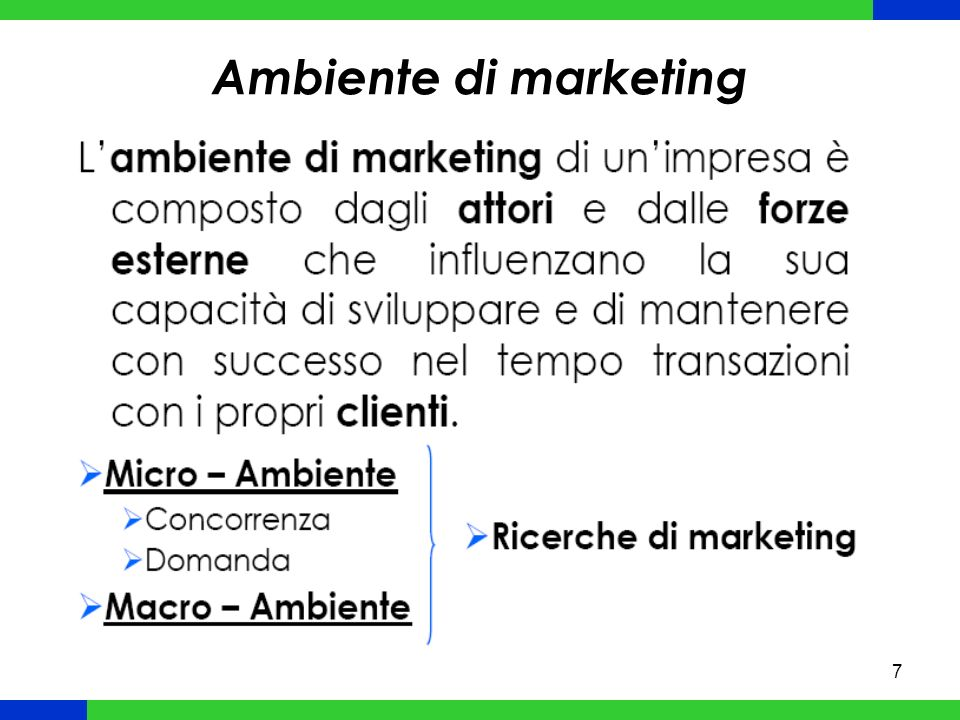 Ambiente di marketing